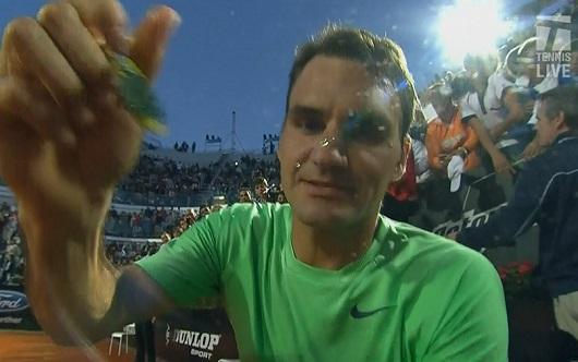 Roger Federer hair