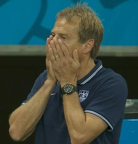 Jurgen Klinsmann Wondo miss