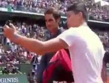 Roger Federer selfie
