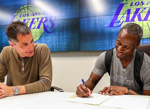 Andre Ingram Lakers