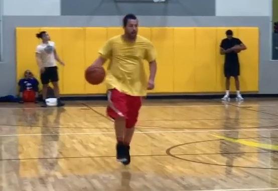 Adam Sandler basketball