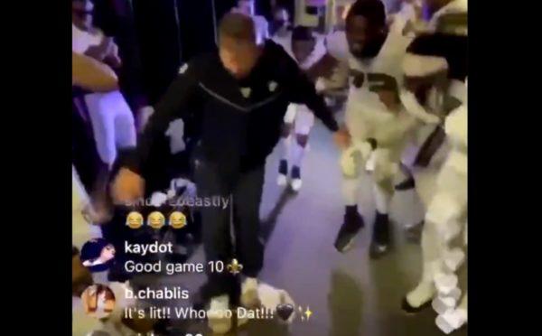 Sean Payton dance