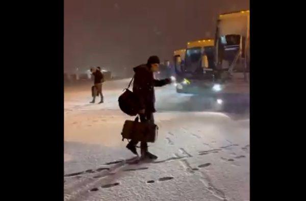 Kevin Pillar blizzard