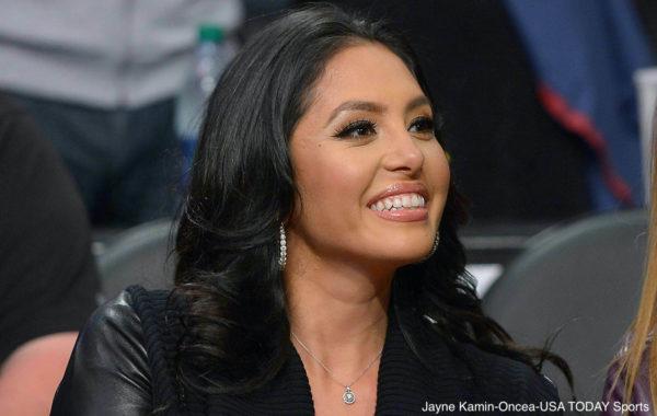 Vanessa Bryant smiles