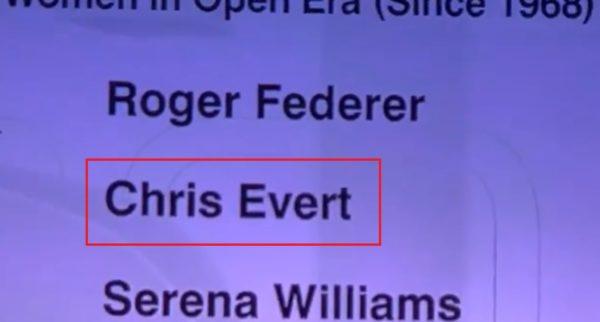 ESPN Chris Evert
