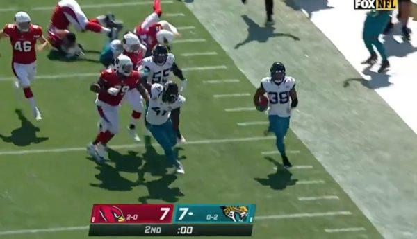 Jamal Agnew kick six