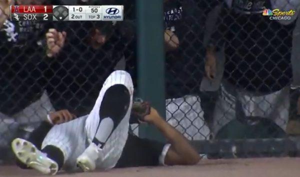 Eloy Jimenez catch