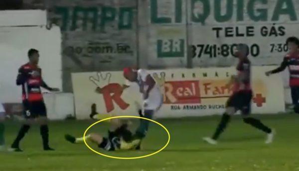 William Ribeiro referee attack