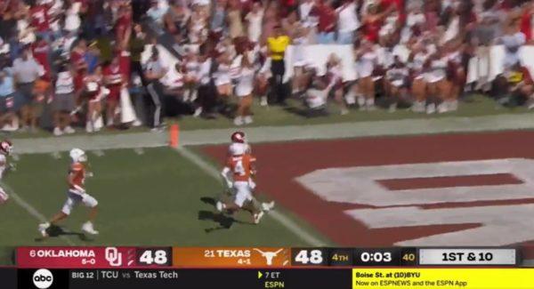 Kennedy Brooks touchdown